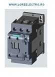 Contactor 18.5KW / 400 V, CONTACTOR 38 A SIEMENS Sirius COD: 3RT2028-1ab00, tensiune bobina 24V ac, Auxiliar 1NO+1NC, S0