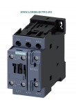 Contactor 5,5KW / 400 V, CONTACTOR 12 A SIEMENS  Sirius COD: 3RT2024-1BB40, tensiune bobina 24V DC, Auxiliar 1NO+1NC, S0