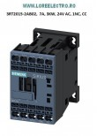 3RT2015-2AF02 Contactor 7A, 3KW / 400 V, SIEMENS Sirius bobina 110V ac, Auxiliar 1NC, Clema Arc ( CAGE CLAMP)